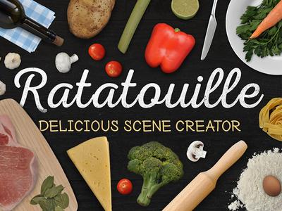 Ratatouille delicious scene creator by visual hierarchy dribbble ratatouille delicious scene creator forumfinder Images