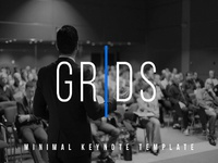 GRIDS – Powerpoint & Keynote Template