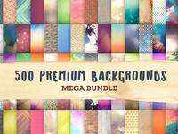 500 Premium Background Designs Bundle