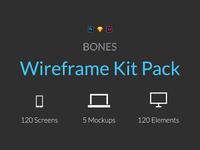 Bones Wireframe Kit Pack