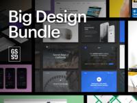[95% OFF] Big Design Bundle – UI Kits, Wireframes, Mockups