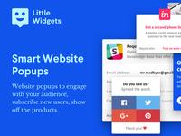 Little Widgets – HTML Website Widgets & Popups