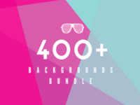 400+ Unique Backgrounds Bundle [Lifetime Access]