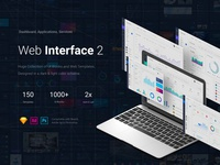 Web Interface 2 150 Templates 1000 UI Blocks