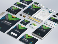Business Mega Stationery Branding Bundle