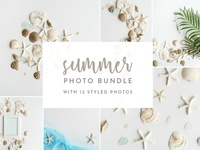 Summer Photo Bundle Seashells