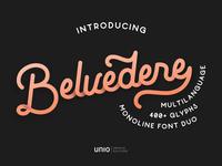 Belvedere Monoline Font Duo