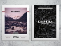 LifeStyle Indesign Magazine Template