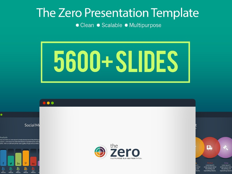 Infographic Business Powerpoint Presentation Template By Visual