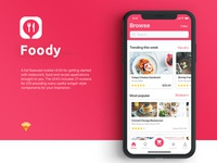 Foody Mobile App Ui Kit