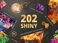 202 Shiny Backgrounds Collection