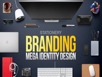 Trendbiz Stationery Business Mega Branding Identity Bundle
