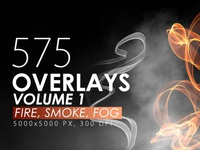 575 Fire, Smoke, Fog Overlays