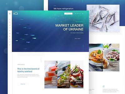 Seafood design dish tasty crab shrimp fish ocean food sea