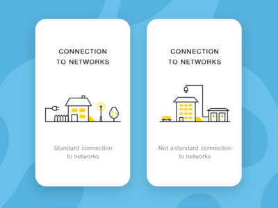 Connection to electrical networks