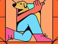Cuarentena colors illustration debut 2d
