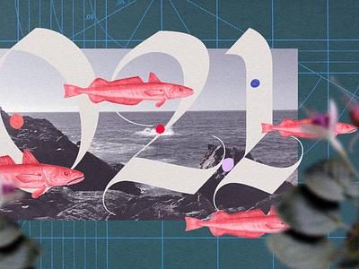 COLLAGE 2021 design motion colors animation debut 2d