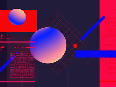 Alt-J geometry abstract motion colors 3d 2d debut