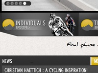 Individual buttons for Haute Route site update