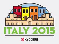 Kyocera Italy 2015 Trip Logo