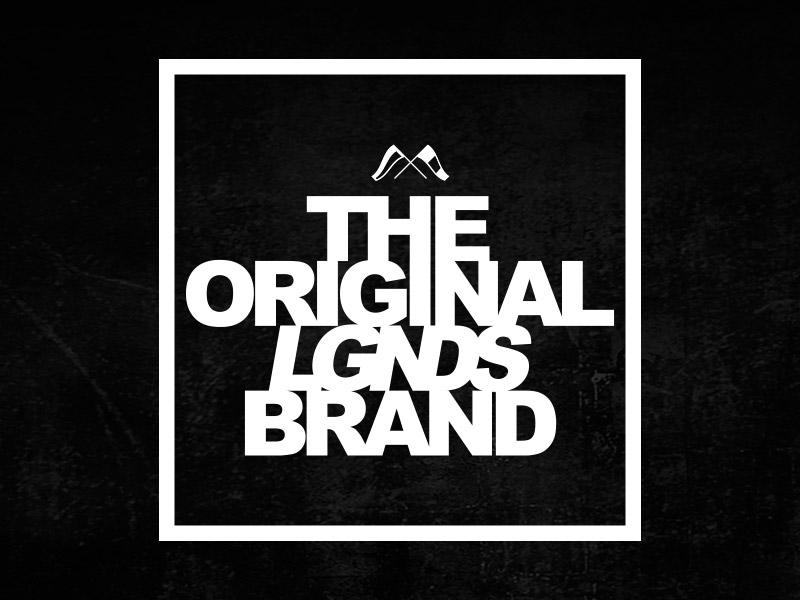 LGNDS Branding lgnds clothing logo branding