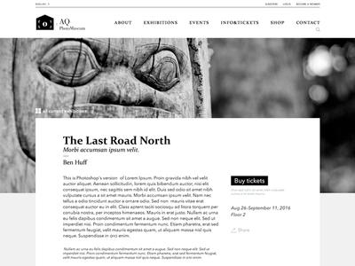 Photography Museum Website