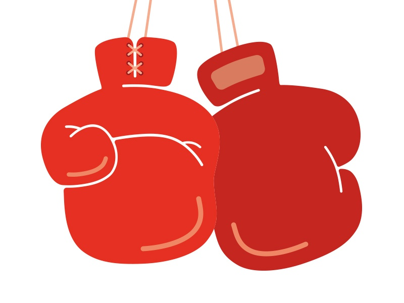 Boxing Gloves laces fight vector fighting fist red boxing gloves gloves boxing