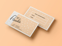 Hair Dresser Business Card