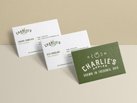 Charlie's Apples - Business Cards