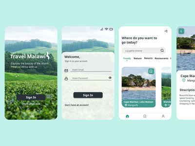 Travel App Sign In|Home Page inspiration ui new productdesign app product signin mobileapp design