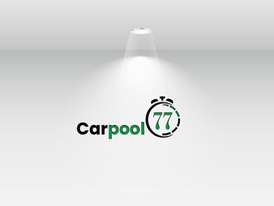 Carpool Logo Design1 music media logotype logo template job in time hours logo eps file elegant developer design creative communication clock logo check mark check business audio app