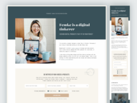 Short Email Lead Landing Pages