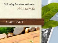 Header for Nature-Inspired Website