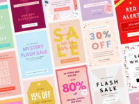 Sale Email Design Templates