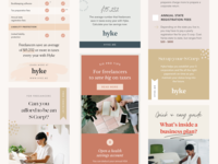Pinterest Pin Design feminine social media templates promoted pins ad design social media design pinterest design pinterest