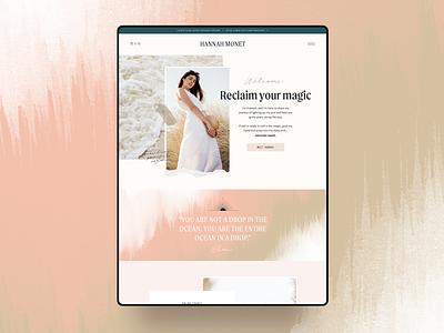 Homepage Design web design website designer website design feminine landing page concept landing page design landing page homepage design homepage