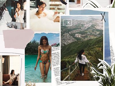 Fashion Collage Work travel blogger influencer blog design blog post blogger fashion app collage maker collage art fashion collage