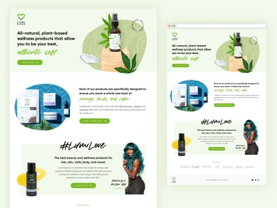 CBD Landing Page Design lead generation lander website design cbd weed web shopify design landing page web design