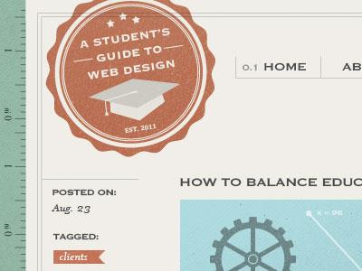 Header Shot badge logo stamp texture blog header blog post tagged navigation