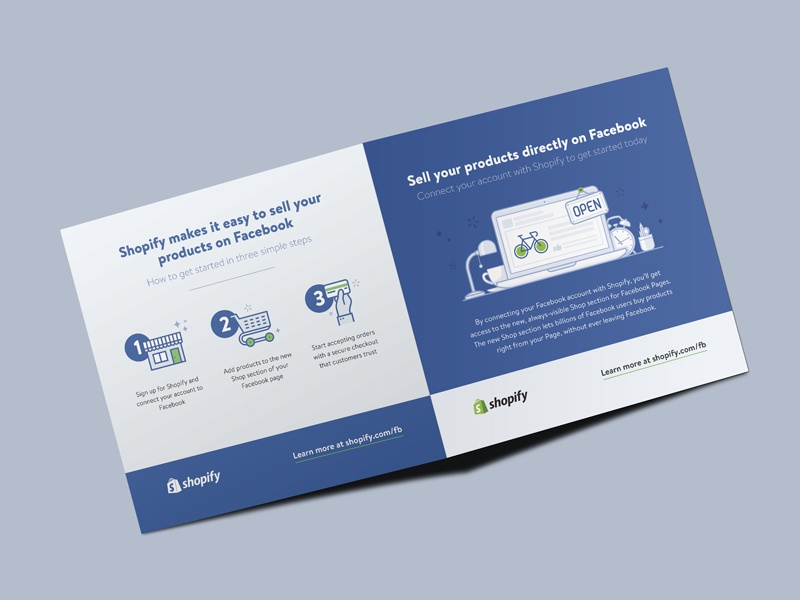 Direct Mail - Facebook Shop by Janna Hagan for Shopify on