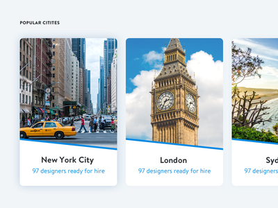Local Web Designers – SEO Pages blue shopify web layout seo popular card cities designers city