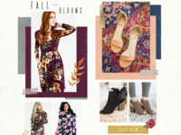Fall Women's Email Newsletter Design