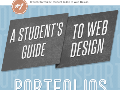 A Student's Guide to Web Design Portfolios web design texture number 1 badge portfolios steelfish mensch coffee script ebook