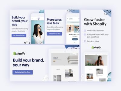 Gmail Ad Desgn digital ads blue pinterest texture google ads gmail shopify advertisement ads