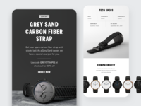 Mens Watch Brand – Email Design