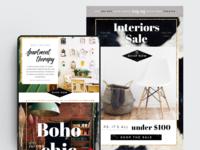 Interior Design Template – PSD