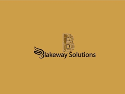 Blakeway Solutions logo design illustration