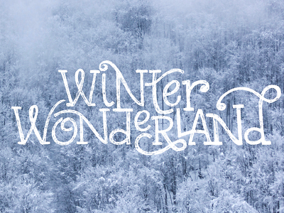 Winter Wonderland letters snow lyric song winter wonderland wonderland winter carol christmas sketch lettering hand lettering