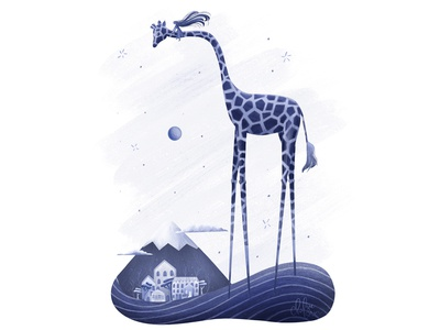 DreamWorld Series: Giraffe