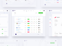 FinDox All Pages UI/UX design